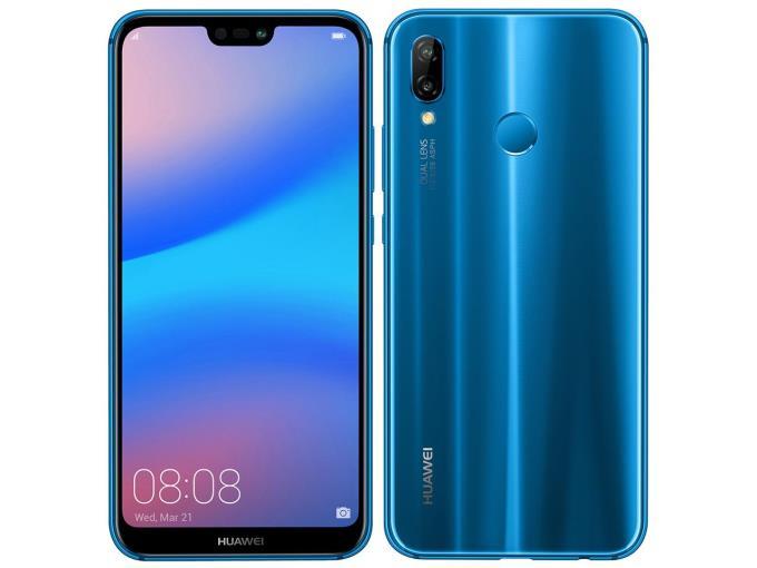 Huawei スマートフォン(SIMフリー) ANE-LX2J-BLHUAWEI P20 lite SIMフリー [クラインブルー]
