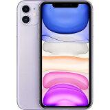 APPLE スマートフォン(SIMフリー) MWLX2J/A iPhone 11 64GB SIMフリー パープル