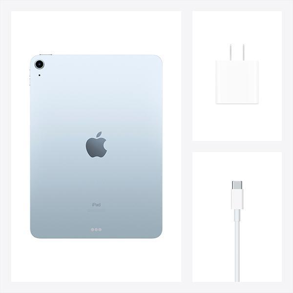 APPLEiPAD(Wi-Fiモデル)iPadAir10.9インチ第4世代Wi-Fi64GB2020年秋モデルMYFQ2J/A[スカイブルー]【多少のシュリンク破れ、箱のへこみがある場合があります】