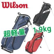 【数量限定】ウィルソンWILSONスタンドキャディバッグWGB3306SB軽量1.9kgウイルソンゴルフ