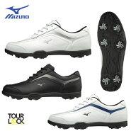 [幅広/EEEE]ミズノスパイクゴルフシューズ51GQ1880MIZUNOT-ZOIDティーゾイドゴルフ靴