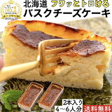 北海道 バスクチーズケーキ 2個 送料無料 誕生日 スイーツ ギフト 帰省 みやげ おみやげ プレゼント ケーキ レアチーズケーキ お菓子 お取り寄せ 贈り物 ギフト 洋菓子 冷凍 人気 ランキング 母の日 父の日