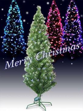 クリスマスツリー 120cm 緑/ファイバー ツリー/LED/流れるようなイルミネーション/USB/AC電源/| ファイバーツリー クリスマスツリーおしゃれ おしゃれ クリスマス 飾り クリスマス雑貨 かざり 電飾 ライト 小型 120 センチ 屋内 屋外 小さめ クリスマス用品 クリスマスグッズ