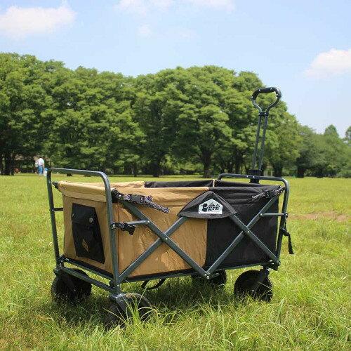 (grn outdoor)ジーアールエヌアウトドア 60/40 Cloth All-Land Carry Wagon(BLACK)画像