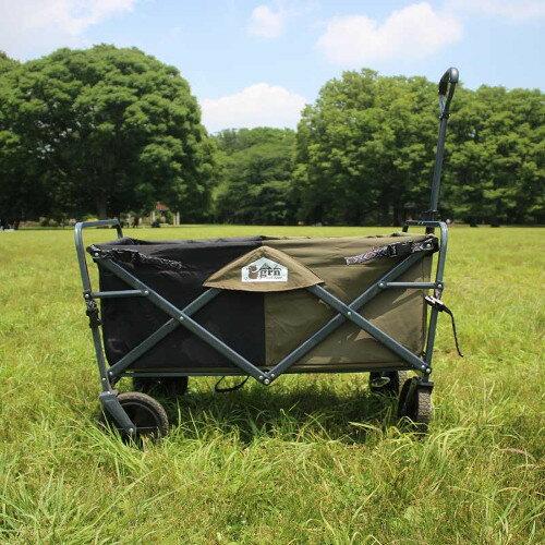 (grn outdoor)ジーアールエヌアウトドア 60/40 Cloth All-Land Carry Wagon (OLIVE)画像