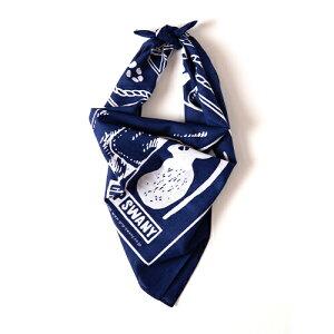 (GRIP SWANY)グリップスワニー グローブ バンダナ (ネイビー)   バンダナ メンズ スカーフ アウトドア キャンプ 焚き火 ブランド おしゃれ