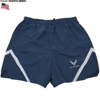 Real brand new U.S. air force U. S. AIR FORCE TRAINING shorts material with absorption of perspiration even training of staff us air force real short