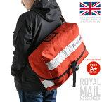 【A+】実物 イギリス ROYAL MAIL メッセンジャーバッグ ホワイトリフレクター 美品 イギリスにおける 郵便事業を担う国有企業 Royal Mailのメッセンジャーバッグ【WIP03】 【クーポン対象外】