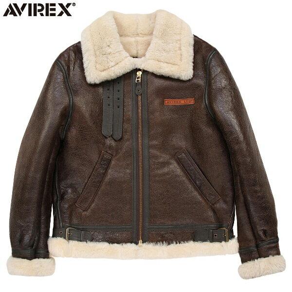 メンズファッション, コート・ジャケット 10AVIREX 2104 B-3 BROWN4850 WIP03