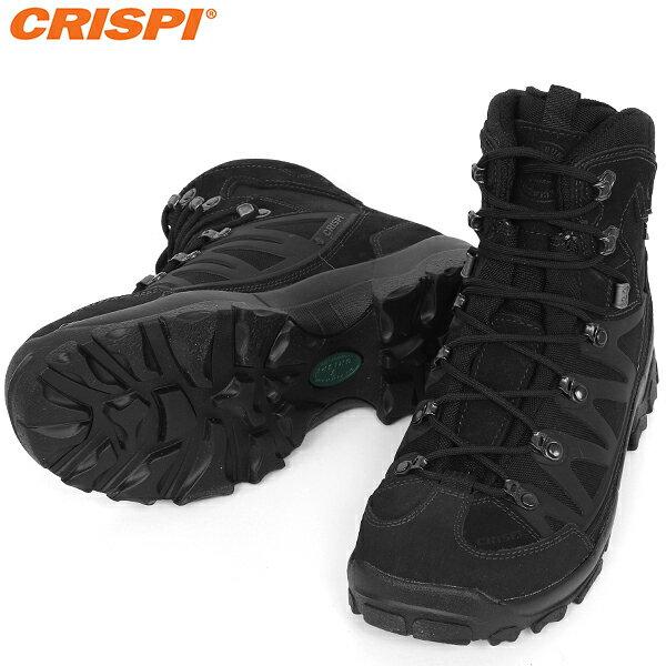 装備・備品, ブーツ CRISPI STEALTH PLUS GTX BLACK GORE-TEXMade in ITALYWIP03