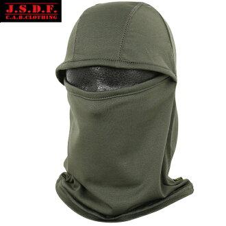 C.A.B.CLOTHING J.G.S.D.F. 是優秀的口罩對在自衛隊2WAY溫暖面罩OD起毛面溫暖地客氣的合身性客氣的爽快的觸感靜電防止加工并且劈裏啪啦o减輕優惠券·要點奇怪的倍對象外