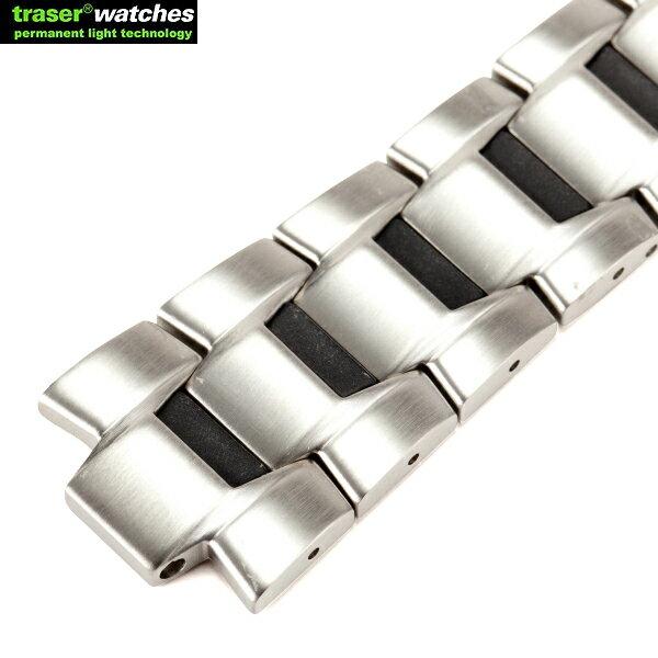 腕時計用アクセサリー, 腕時計用ベルト・バンド 10TRASER STEEL 9031715 STEEL BIG DATE 9031713 TRASERSTEEL BIG DATEWIP03