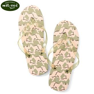 MiL-TEC 軋機科技軍事沙灘涼鞋沙漠迷彩沙灘涼鞋涼鞋涼拖拖鞋休閒夏天偽裝與軍人的優惠券點更改時間排除在外