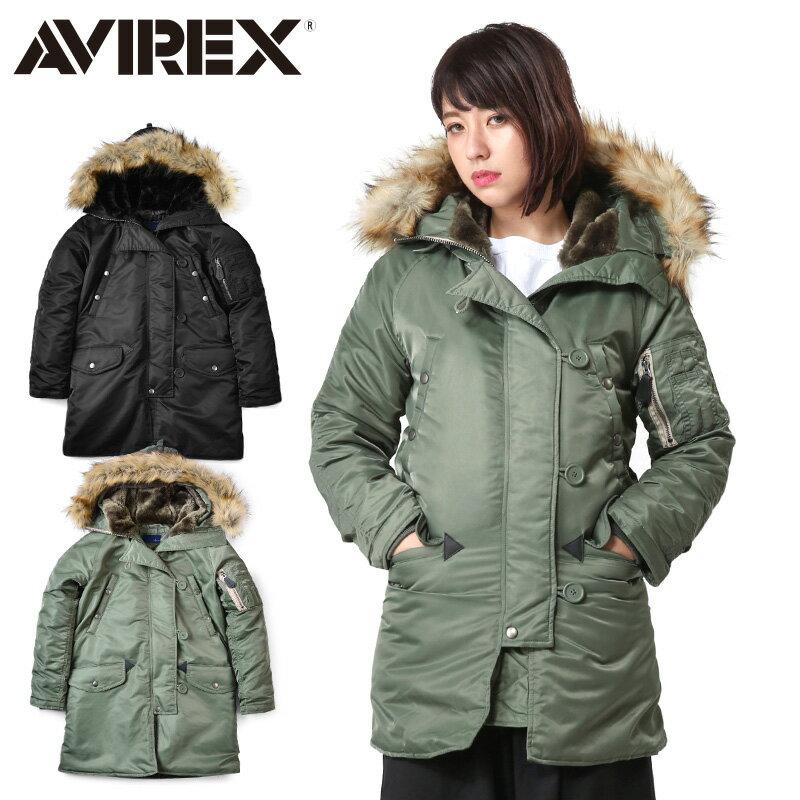 レディースファッション, コート・ジャケット AVIREX 6252053 COMMERCIAL N-3BWIP03