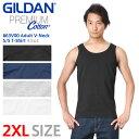 【メーカー取次】【2XLサイズ】GILDAN ギルダン 76200 5.3oz アダルト タンクトップ Japan Fit【Sx】