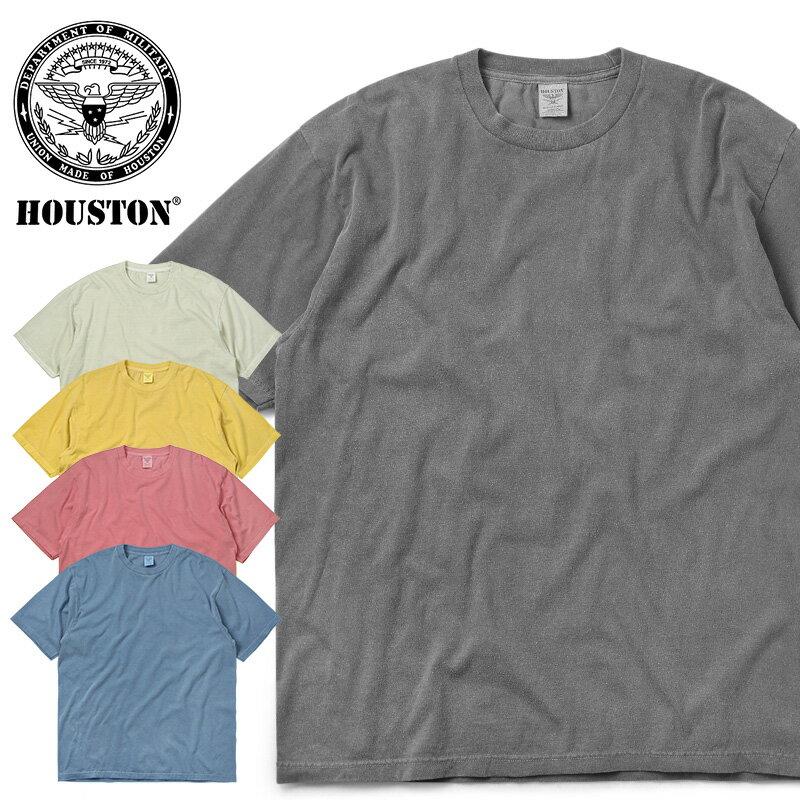 トップス, Tシャツ・カットソー 28OFF T HOUSTON 21811 PIGMENT T SOLID