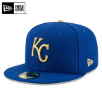 【店内20%OFFセール開催中】【メーカー取次】 NEW ERA ニューエラ 59FIFTY MLB On-Field カンザスシティ・ロイヤルズ ブルー 11449369 キャップ