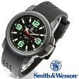 【クーポン対象外】 Smith & Wesson スミス&ウェッソン AMPHIBIAN COMMANDO 腕時計 BLACK SWW-1100