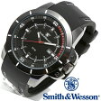 【クーポン対象外】 Smith & Wesson スミス&ウェッソン TROOPER WATCH 腕時計 WHITE/BLACK SWW-397-WH