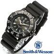 【クーポン対象外】 Smith & Wesson スミス&ウェッソン SWISS TRITIUM SPORT WATCH 腕時計 BLACK SWW-450-BLK