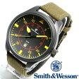 【クーポン対象外】 Smith & Wesson スミス&ウェッソン N.A.T.O. WATCH 腕時計 BLACK SWW-515-BK