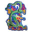【プロ野球 中日ドラゴンズグッズ】ドラゴン龍ワッペンAの商品画像