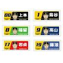 【プロ野球 阪神タイガースグッズ】2019選手イラストフェイスタオルの商品画像