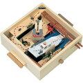 工作加賀谷木材北海道産自由研究木工工作立体迷路ゲーム