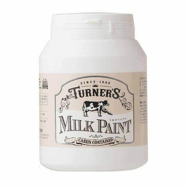 ターナー色彩 ミルクペイント インクブラック MK450009 450ml