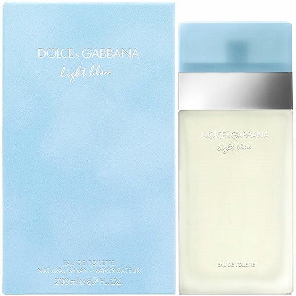 美容・コスメ・香水, 香水・フレグランス 2 Dolce Gabbana EDT SP 200ml LIGHT BLUE14