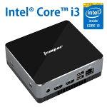 送料無料EZboxi3ミニPC進化版【メモリ8GB】【128GBSSD】IntelCorei3プロセッサ【軽量静音型】デスクトップパソコン高効率パワースクトップPCWin10搭載/WiFi対応無線LAN/Bluetooth/便携PC