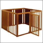 ペットサークル 80XL [木製 / 室内犬用 / 拡張可能](サークル・ケージ・ゲージ)