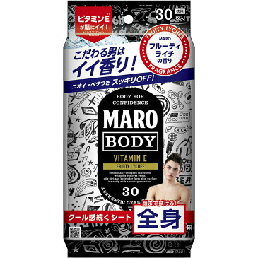 ☆MARO(マーロ)デザインボディシート グラフィティ 30枚入 [山田孝之・CM]