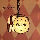ペンダントライト 【EAT ME Butter Milk ・イート ミー バター ミルク】 LED対応 不思議の国のアリス スイーツ ステンドグラス ランプ