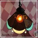 ペンダントライト 【Almond・アーモンド】 LED対応 スイーツ ステンドグラス ランプ