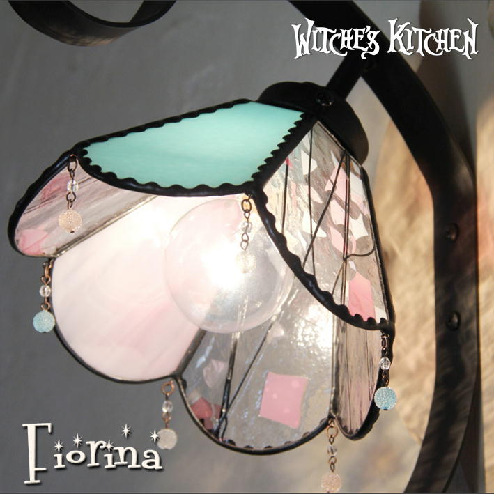 ブラケットライト アンティーク【Fiorina・フィオリーナ】LED対応 エレガント 壁掛け照明 ステンドグラス ランプ ブラケットライト アンティーク