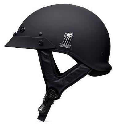 ハーレーダビッドソン Harley Davidsonハーフ ヘルメットHarley-Davidson Men's #1 Hybrid Ultra-Light Spoiler Half Helmet マットブラック● 新作 ハーレー純正 正規品 アメリカ買付 USA直輸入 通販