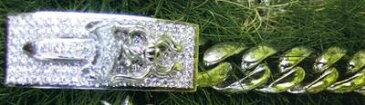 【Chrome Hearts】 クロムハーツ ブレスレット18金WG製 ダガーIDブレスレット18White Gold Dagger ID Bracelet本物 正規品 アメリカ買付 USA直輸入