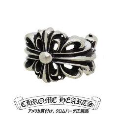 クロムハーツ Chrome Hearts リングダブル フローラル クロス リング Double Floral Cross Ring本物 正規品 アメリカ買付 USA直輸入