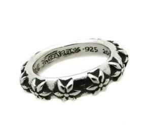 クロムハーツ Chrome Hearts リングスターバンドリング Star Band Ring本物 正規品 アメリカ買付 USA直輸入