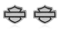 ハーレーダビッドソンHarleyDavidsonオープンバー&シールドロゴポストイヤリングOpenB&SLogoPostEarringsハーレー純正正規品アメリカ買付USA直輸入通販