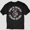 サン・オブ・アナーキー Sons of AnarchyRedwoodオリジナルTシャツブラック新作 正規品 アメリカ買付 USA直輸入 通販