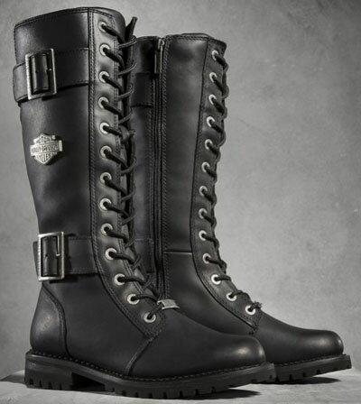 ハーレーダビッドソン  Harley Davidson レディース ブーツBelhaven Performance Boots ブラック新作 ハーレー純正 正規品 アメリカ買付 USA直輸入  通販:Wit@USA