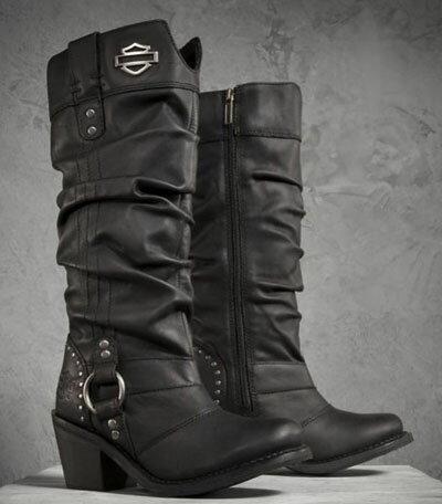 ハーレーダビッドソン  Harley Davidson レディース ブーツJana Performance Boots ブラック新作 ハーレー純正 正規品 アメリカ買付 USA直輸入  通販:Wit@USA