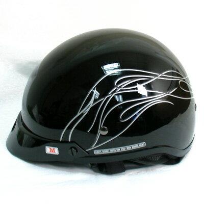 ハーレーダビッドソン Harley Davidsonハーフ ヘルメットHarley-Davidson Women's Destination Half Helmet グロスブラック●ハーレー純正 正規品 アメリカ買付 USA直輸入 通販