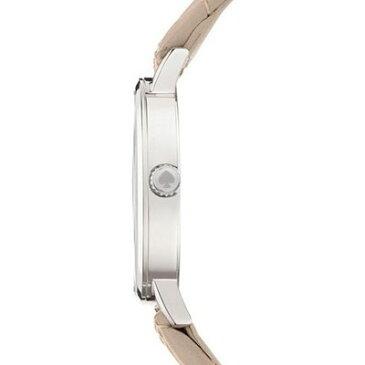 ケイトスペード Kate Spade 腕時計 Metro metro quilted leather strap watch 34mm (Clocktower Grey) メトロ キルティング レザーストラップ 腕時計 (クロックタワーグレー) 新作 正規品 アメリカ買付 レディース 時計