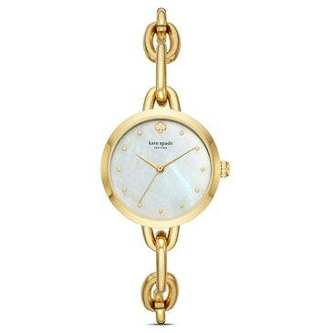ケイトスペード 腕時計 Kate Spade ksw1467gold-tone chain link bracelet watch (gold) チェーンリンク ブレスレット ウォッチ 時計 (ゴールド) 新作 正規品 アメリカ買付 レディース ジュエリー 腕時計 ギフト プレゼント