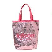 ★キットソン KITSONスパンコール サマートートバッグSequin Summer Tote ピンク