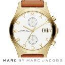 マークバイマークジェイコブス 腕時計Chronograph Leather Strap Watch, 38mm (LightBrown/Gold/White)クロノグラフ レザーストラップ 腕時計 (ライトブラウン/ゴールド/ホワイト)レディース ウォッチ 新作 正規品 アメリカ買付