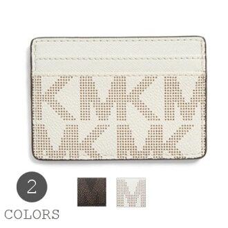 Michael Michael Kors Michael Kors 卡噴氣機卡持有人自從卡持有人 (2 顏色) 把案件新定期小真正的女士